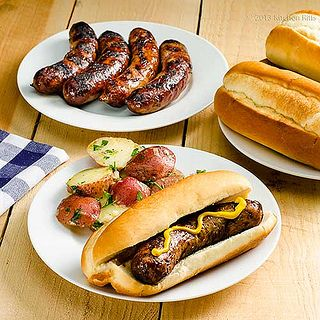 Grilled Bratwurst 2 by kitchenriffs, via Flickr