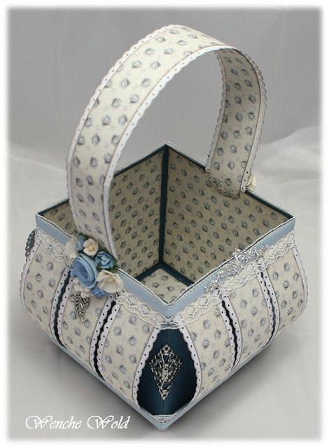 Paper basket DIY