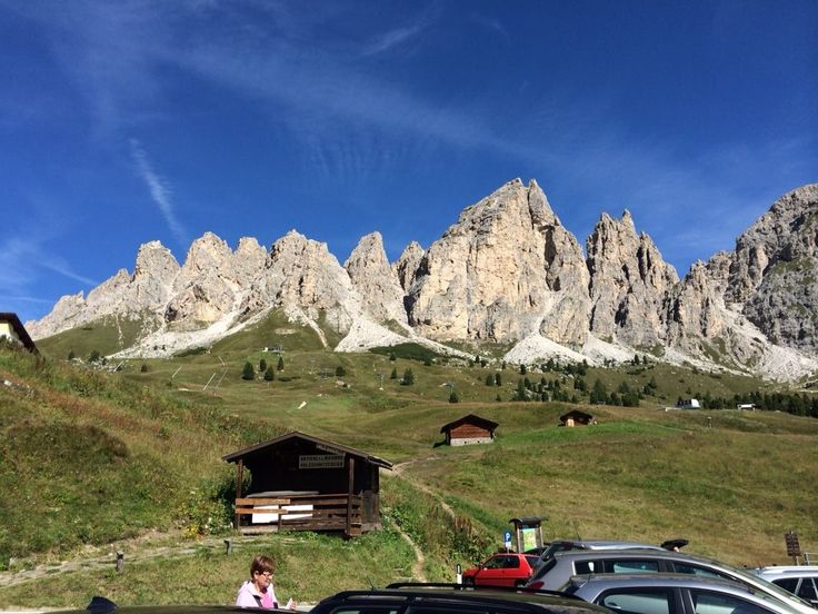 Passo Gardena offers a challenge for any cyclist.
