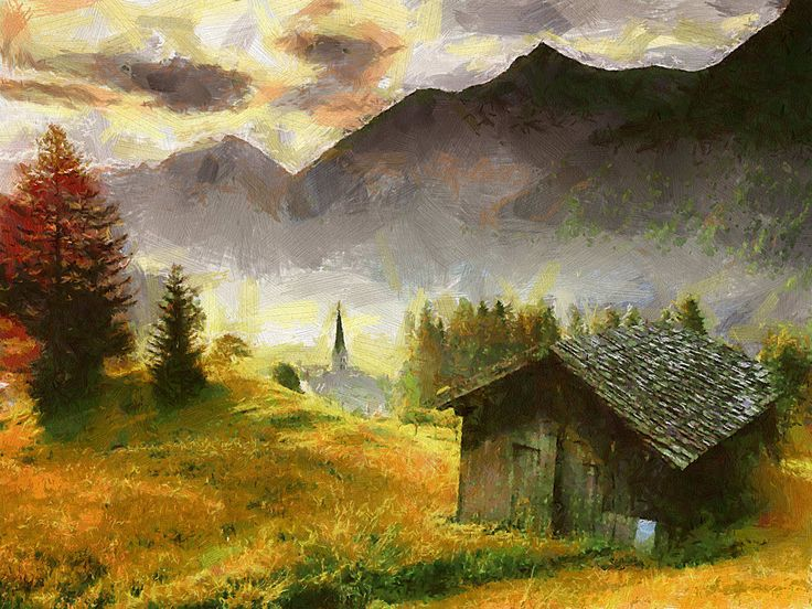 Landscape With Cottages John Constable - Bing Images ...