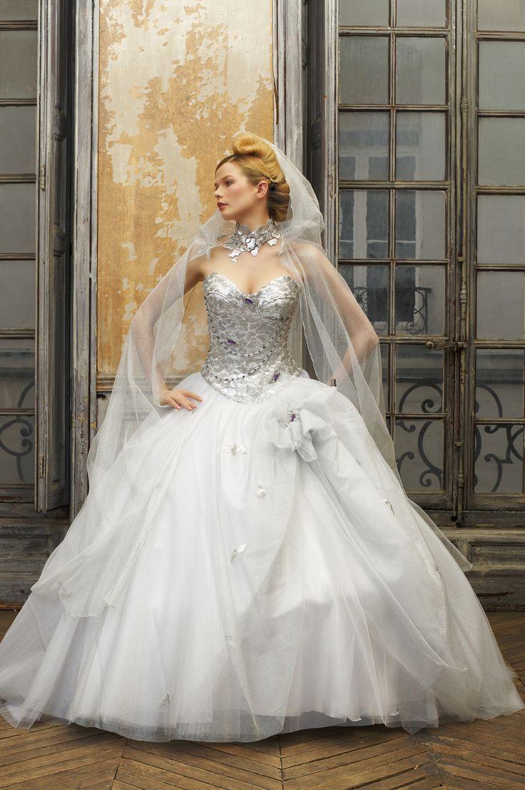 used Silver Wedding Dress