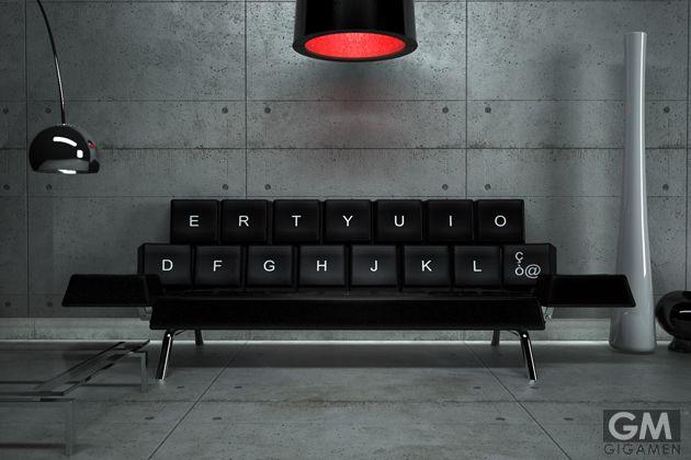 果たして人は、キーボードに座ってくつろぐことができるのか?