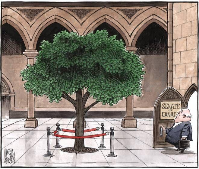 Editorial Cartoon | The Chronicle Herald - senate - April 16 2015