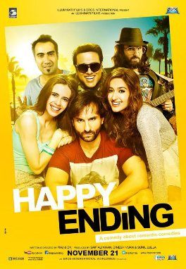 Happy Ending (2014) Hindi Movie 350MB DVDScr 480P | Free Hd Movies Download