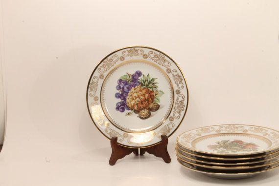 50 OFF SALE  Kahla Plate China Plate Salad by ClockworkRummage