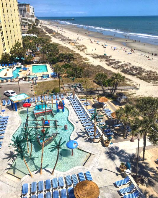 Myrtle Beach, South Carolina   Perfect for those who want a little bit of everything! Pick your pleasure and your place to stay!   Pictured - Captain's Quarters Resort   Oceanfront   Places To Stay   Photo via IG user @laurenweber84   Click on the pin for Places to Stay and Info About the Myrtle Beach Area.