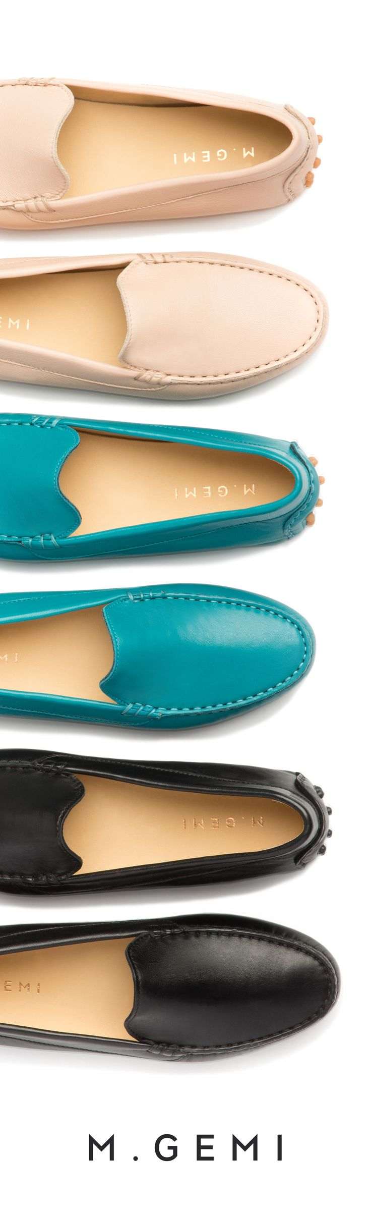I'm going to have to get these.  Supple Italian leathers. Meet 'The Felize' driving moccasin.