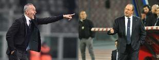 Diciannovesima giornata. I bianconeri chiudono il turno contro il Verona alle 20.45. Alle 12.30 il big match Lazio-Napoli