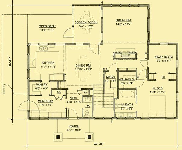 Architectural House Plans Floor Plan Details