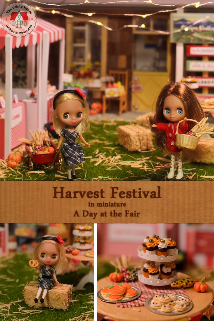 Harvest Festival in Miniature