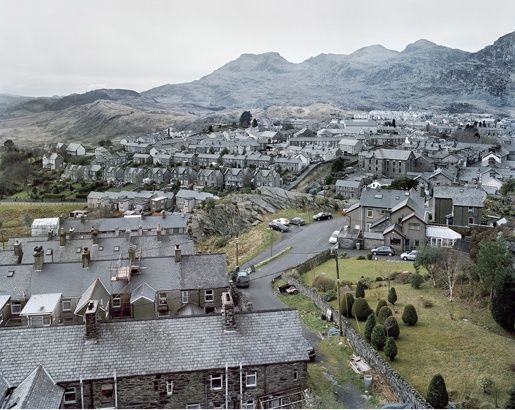 Taken from James Morris: A Landscape of #Wales #miningtown #heritage