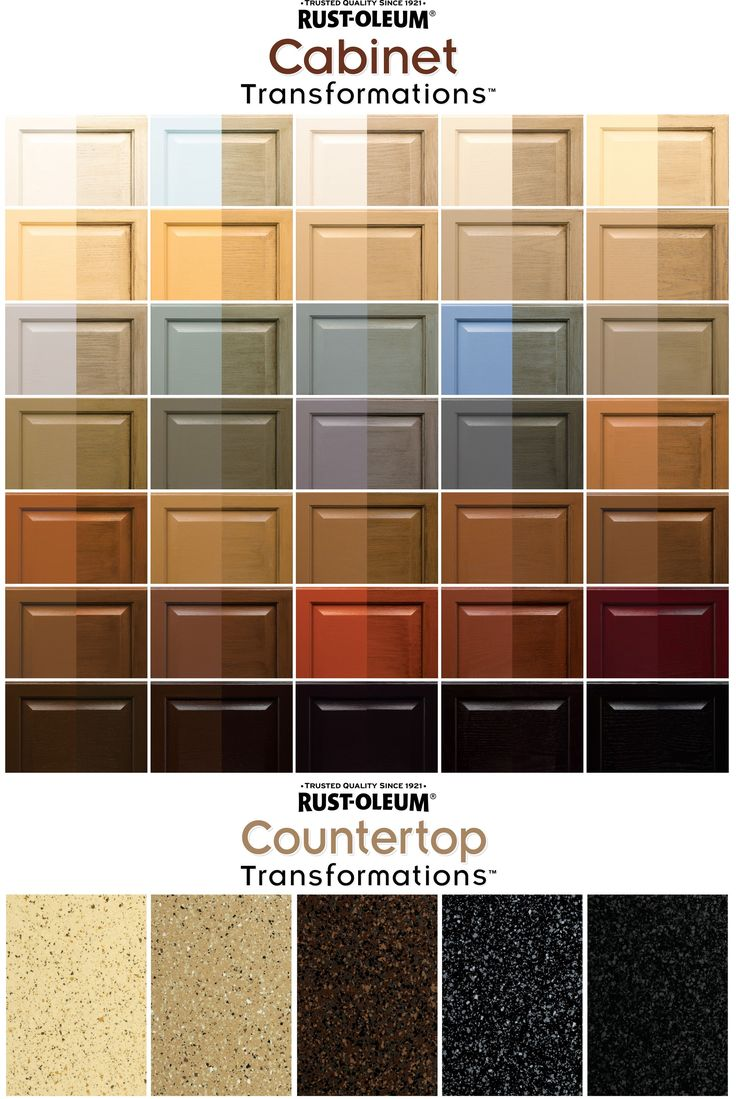 rustoleum paint color chartBest 25 Rustoleum cabinet transformation ideas on Pinterest  How