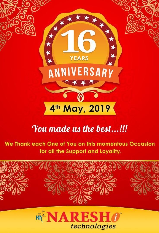 Naresh i Technologies16th Anniversary We the best, 16th