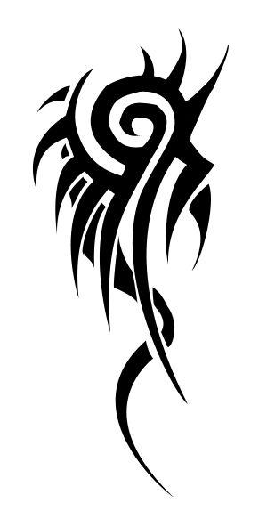 Dragon Tail- Tribal tattoo by yotamon.deviantart.com on @deviantART