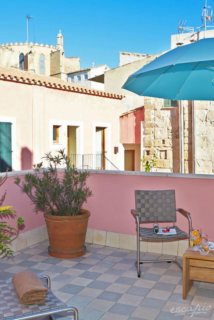 Kleines, romantisches Hotel auf Mallorca: Palau Sa Font.  Palma de Mallorca, Spanien
