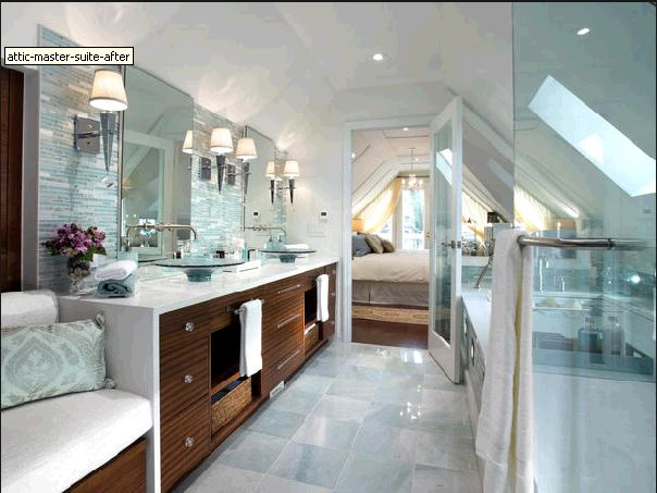 Terrific Attic Bathroom Ideas Design Living For Pretty In The Candice Olson