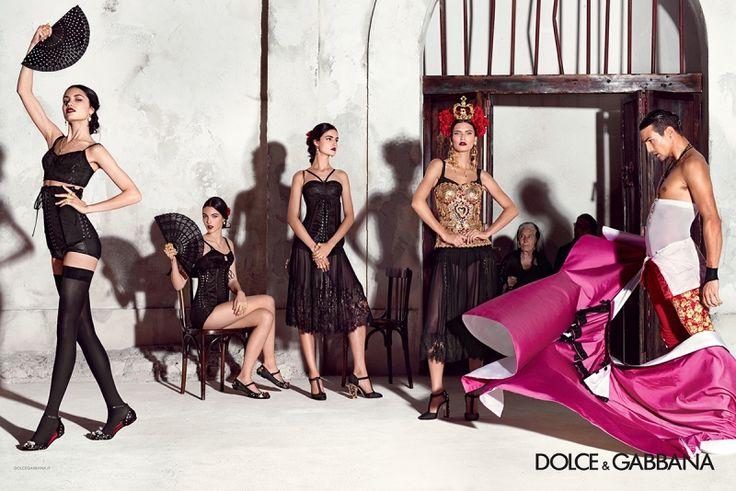 Dolce & Gabbana Campaign SS 2015 - Bianca Balti, Blanca Padilla, Irina Sharipova, Vittoria Ceretti, Misa Patinszki, Travis Cannata, Xavier Serrano, Jose Maria Manzanares by Domenico Dolce
