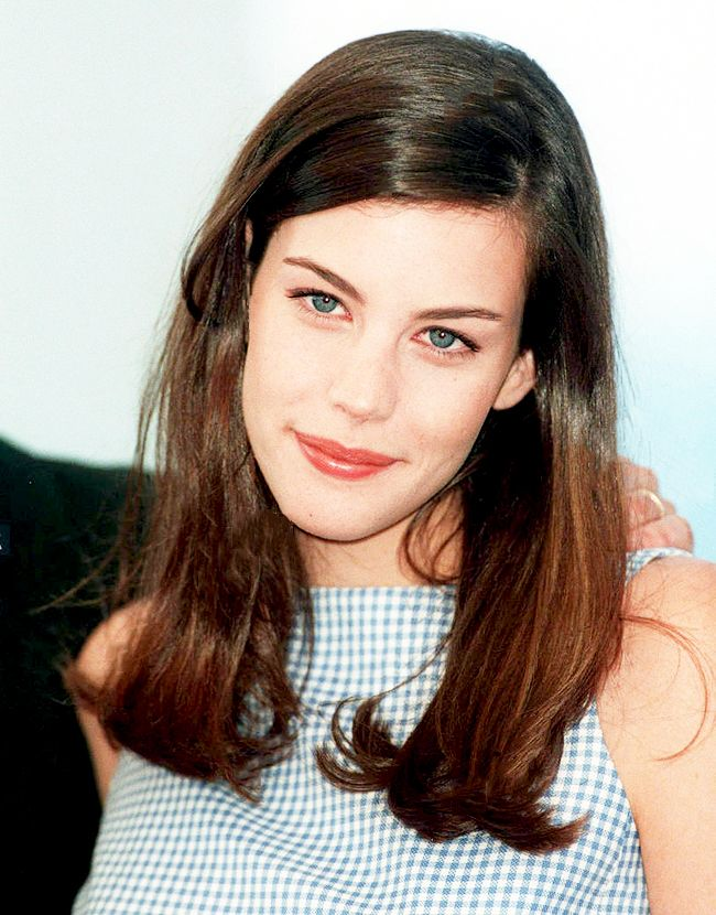 Liv Tyler at the 'Stealing Beauty' photocall In Cannes, France, 1996