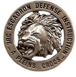 3eme Cuirassiers-Escadron  de défense et d'instruction