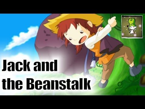 Jack and the Beanstalk - Bedtime Story Jack in this version decides to steak from the giant. He decides he will take the giants magical hen. When he presents it to his mother she tells him that he should still work and make a living. It does try to teach some good morals.