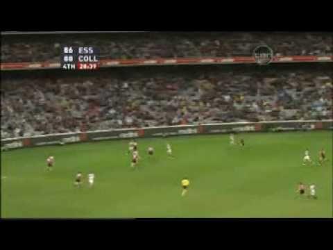 Final 5 Minutes - Essendon vs Collingwood - Anzac Day 09 - YouTube