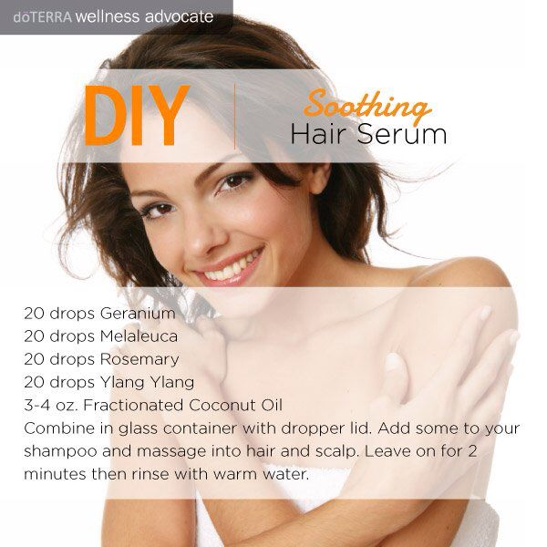 29 best essential oil tips images on pinterest doterra essential do it yourself soothing hair serum solutioingenieria Gallery