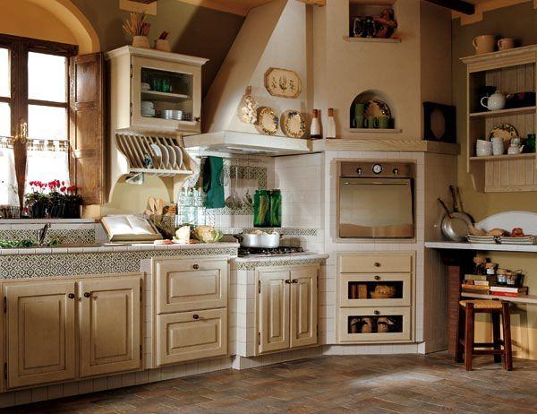 Lo stile Toscano per cucine classiche