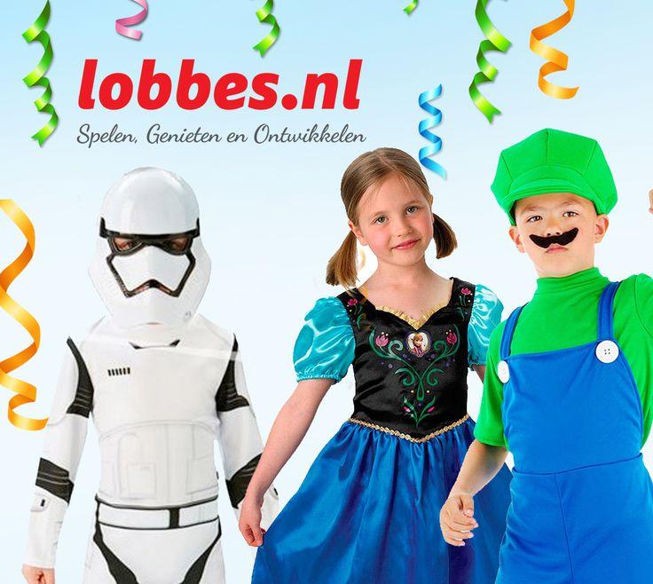 Kinderkostuums bij Lobbes.nl. Word piraat, prinses, clown, cowboy en nog veel meer! Kostuums, pruiken, hoofddeksels, maskers, schoenen en nog veel voor kinderkostuums. Ruime keus in verkleedkleding voor bijvoorbeeld Carnaval, kinderfeestjes of speciale dagen op school!