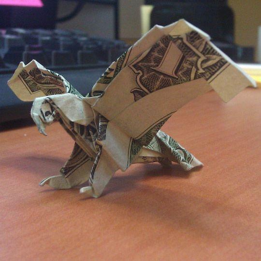 origami eagle http://www.trevormead.com/images/dollars/dollar-origami-eagle.jpg