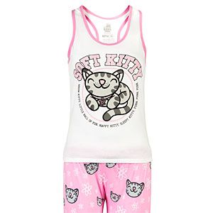 Soft Kitty Ladies' Pajama Set