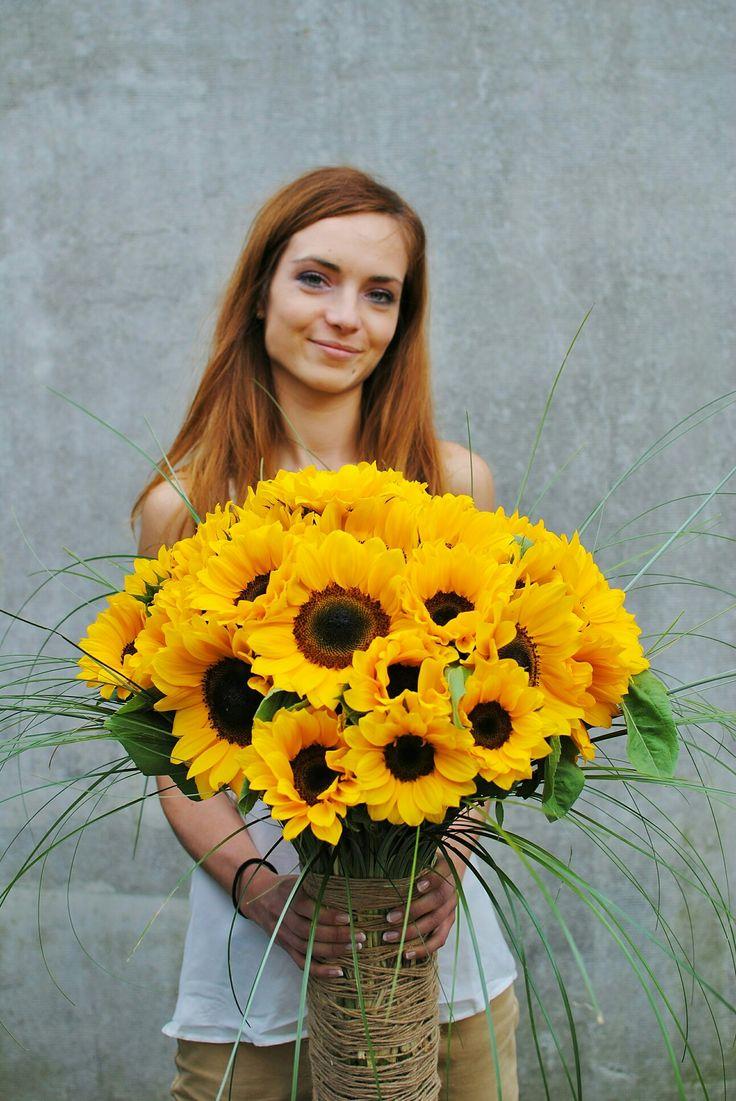 #bouquet #flowers #sunflowers