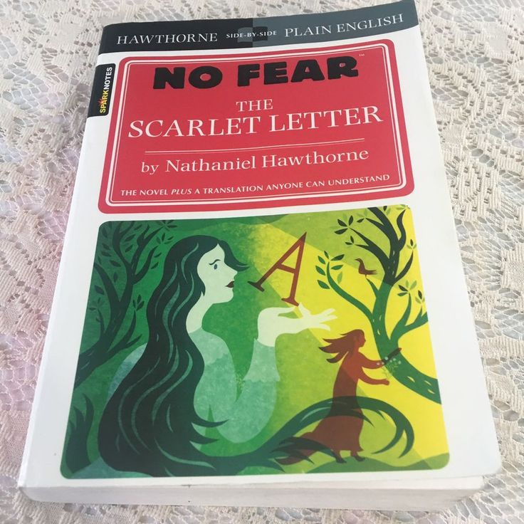 No Fear The Scarlet Letter by Spark Notes and Nathaniel