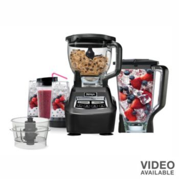 ninja mega complete kitchen system blender u0026 food processor just got it and