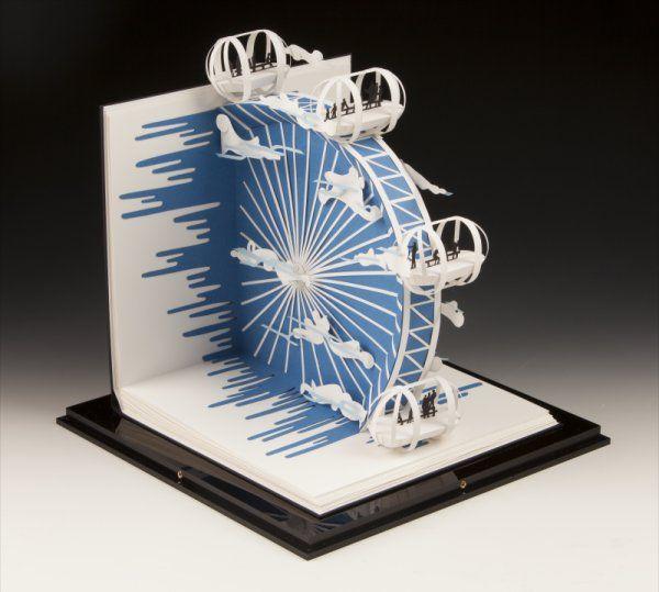 Paper-Art/Sculpture - by Paper Artist 'Sher Christopher' via 'sherchristopher.com' ★❤★