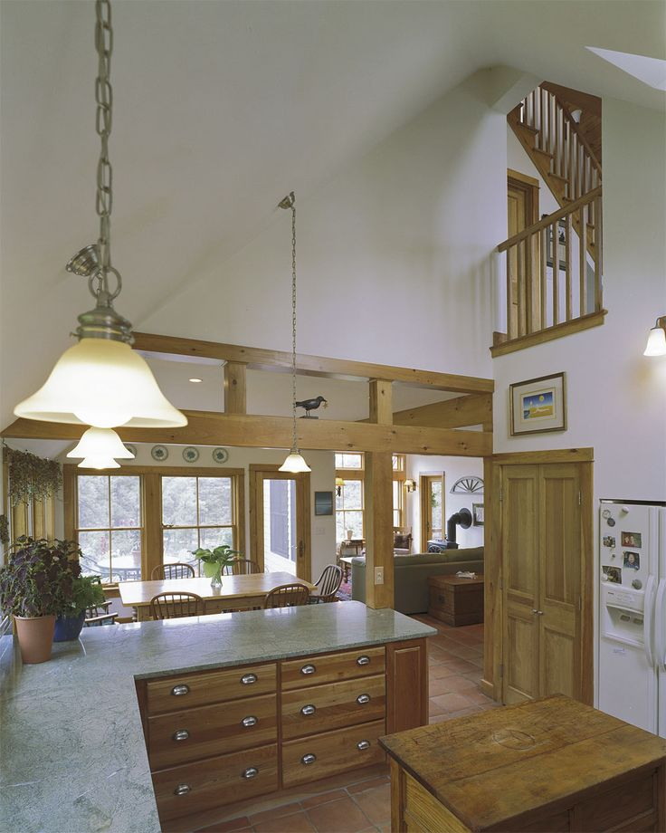 Between Kitchen And Dining Room Drawers Under Island Or