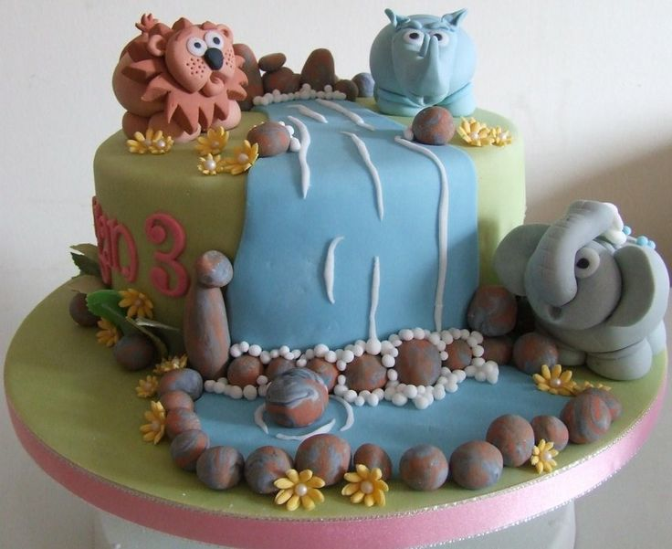 Cake Decorations Jungle Theme : 17 Best ideas about Jungle Theme Cakes on Pinterest ...