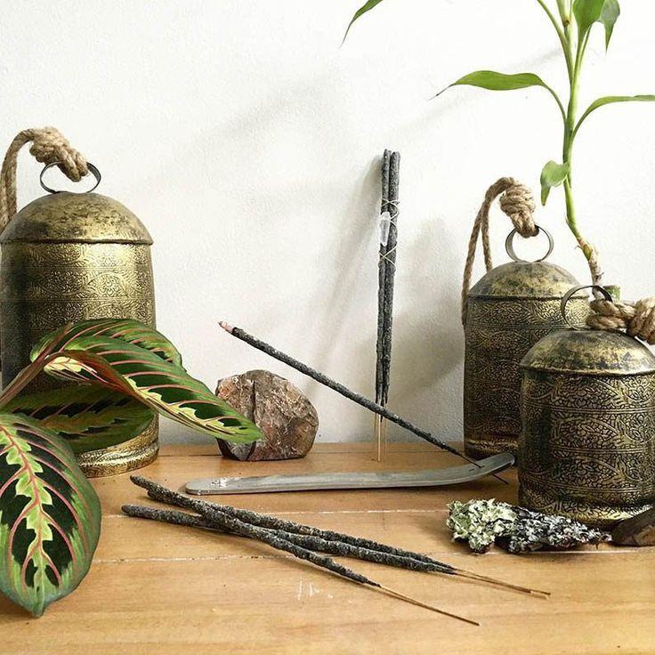 Copal Incense Bundle | Incense, Hemp twine, Incense holder