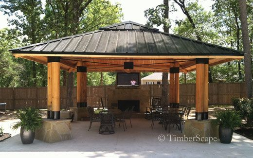 12 Great Ideas For A Modest Backyard: 17 Best Images About Gazebos, Sheds, Out Buildings On