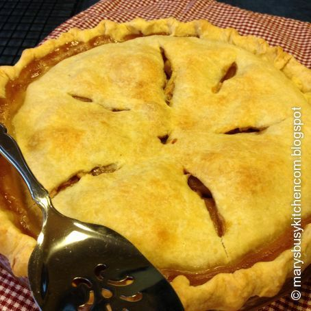 Country Style Apple Pie