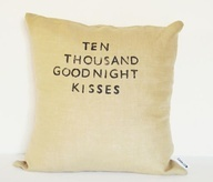 Ten Thousand Kisses Goodnight Pillow    *A mix of more than 20 different types. :)
