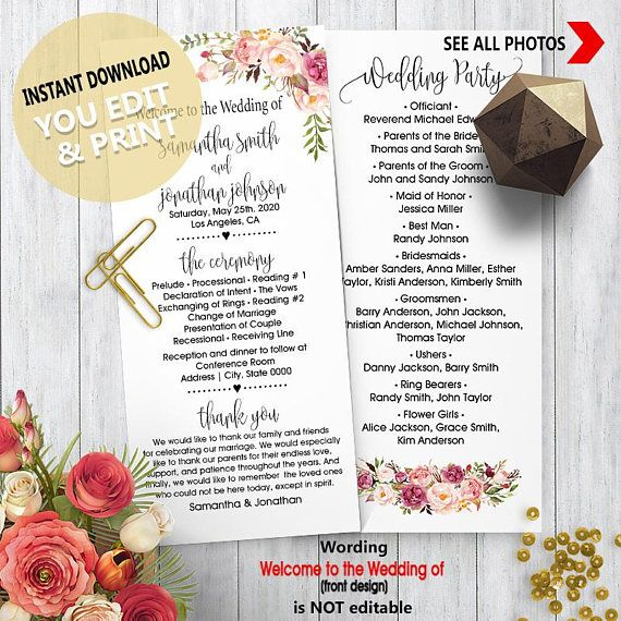 Best 25 wedding itinerary template ideas on pinterest - Design your own mobile home online ...