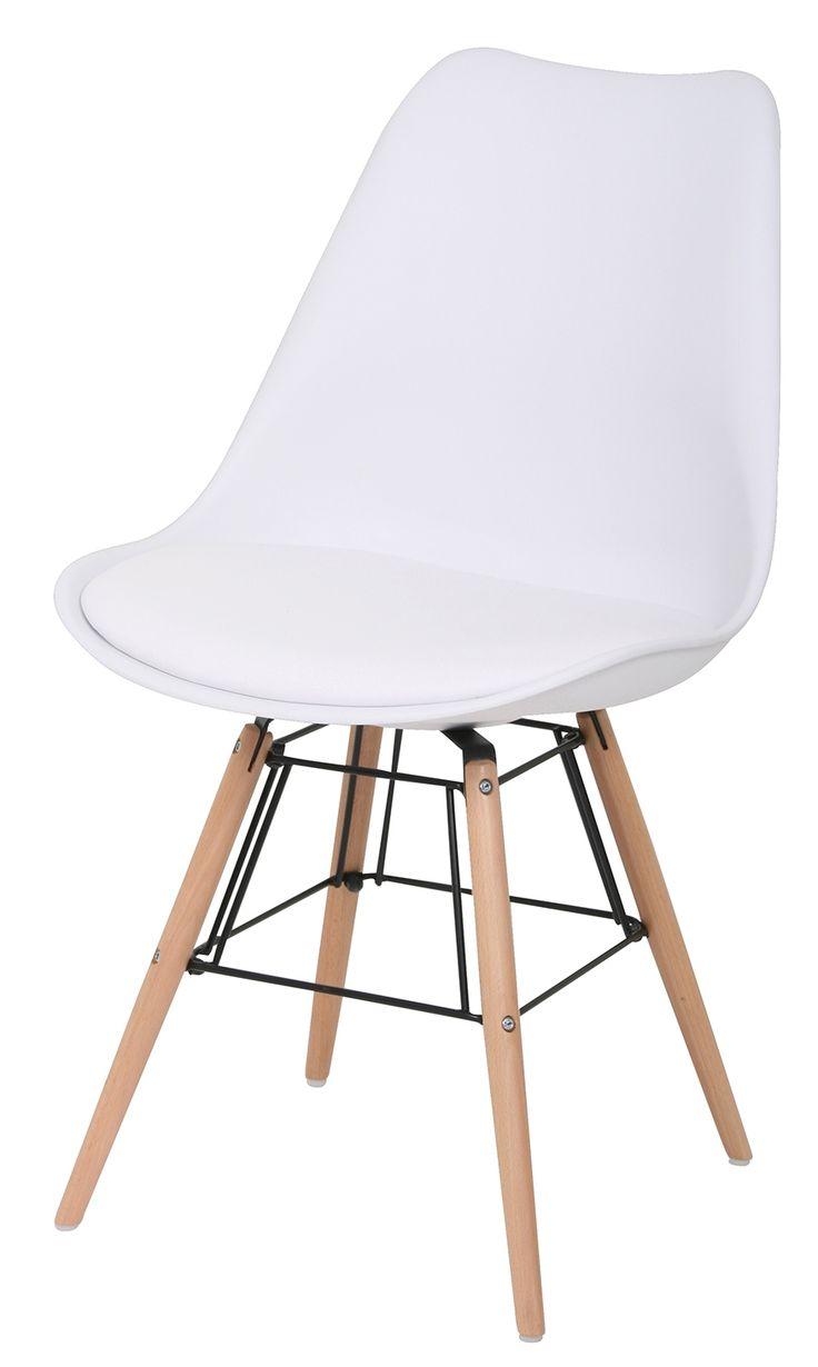Dex stoel wit http://www.designonline24.nl/24designs-2-stoelen-dex-wit-hout.html