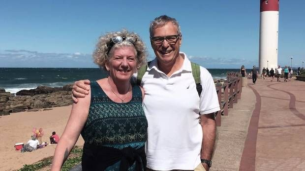 Michael and Debbie Campbell never spend more than $120 on a place, and have stayed in 150 homes.