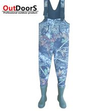 Shipping Free! Custom camouflage waders fishing waders tailor made fishing boots hunting boots rubber hip wader OUTDOOR