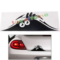 Funny Peeking Monster Scary Eyes For JDM Car/Bumper/Window Vinyl Decal Sticker