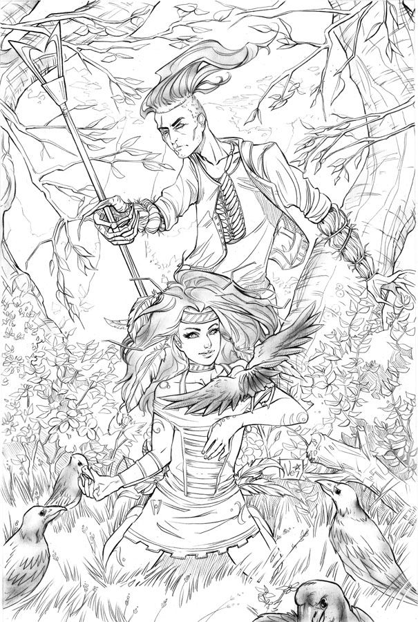 Cover For The 6 Issue Trade Paperback Published By Big Dog Ink
