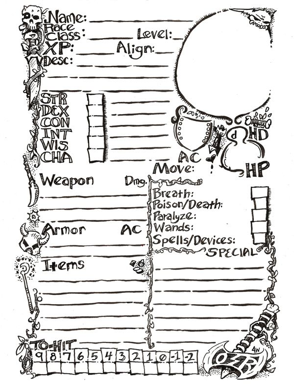 109 best D&D Character Sheets images on Pinterest | Character ...