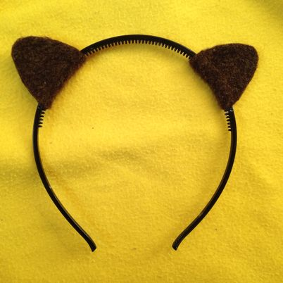Make a Cute Halloween Ear Hairband
