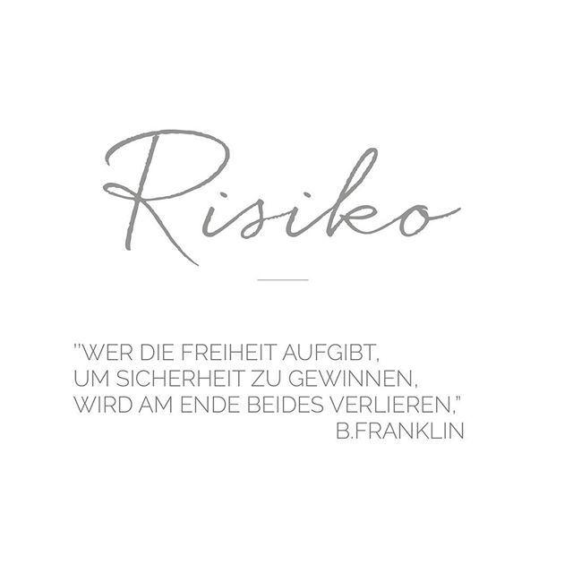 Ein schönes Wochenende wünsch ich euch :) #quoteoftheday #quotes #risk #norisknofun #tagsforlikes #instagood #instagram #instalove #beautiful #setmefree #free #photography #photographer #weddingphotography