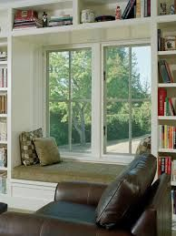 Image result for ideas for bookshelves flanking a window